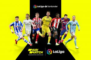 Parimatch - официальный беттинг-партнер Ла Лиги